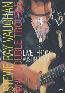 Stevie Ray Vaughan and Double Trouble: Live from Austin Texas  DVD NEW SEALED !!