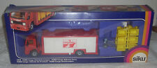 Vintage 1980s SIKU Ford Cargo Delivery Lorry / Truck Made in West Germany