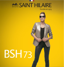 Bruno Saint Hilaire bronze/black marl blazer. Size 18/20. RRP £255