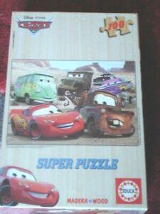 Educa Disney Cars 100pcs wood jigsaw puzzle 13139 new sealed