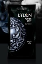 DYLON Permanant Fabric Dye Hand Dye - Pewter Grey - 50 gram -