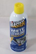 Blaster White Lithium Grease Lubricant / Protectant 11 Oz Aerosol Spray 16-LG