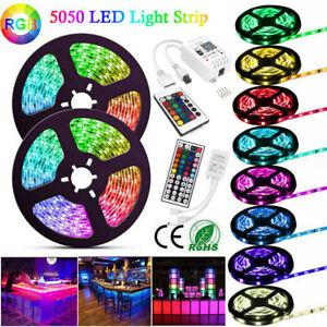 5050 SMD LED Leiste Stripe Band Streifen +Netzteil 5-20m 60LED/30LED Wasserdicht