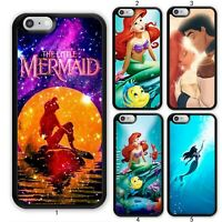 The Little Mermaid Starry Kiss Case Cover For Apple iPhone iPod / Samsung Galaxy