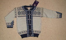 Dale of Norway-dale Classic-Setesdal Cardigan Snowflake-nuevo-chaqueta de punto