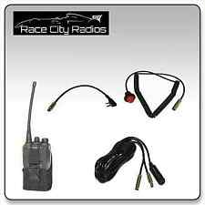 IMSA Car Wiring Kit for KENWOOD Hole Mount PTT Switch Pouch Racing Radios