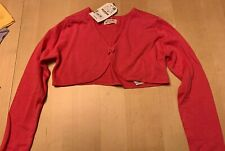 NWT Ooh La La Couture 18 m Wint13 L//S Cotton Knit CANDY PINK Bolero Jacket Shrug