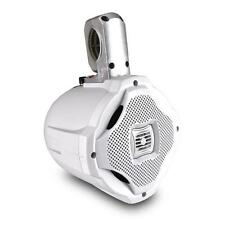 1 NEW Lanzar AQWB65W 500 Watts 6.5'' 2-Way Marine Wake Board Speaker (White)