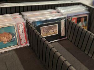 Blemished Black Graded Card Case Storage Box Display Holder 1 Touch MAG PSA BVG