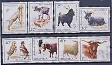 Albanien 1256/63 postfrisch / Haustiere (6943) .................................