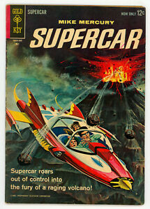JERRY WEIST ESTATE: SUPERCAR #2 & 3 (FN) (Gold Key 1963) NO RES