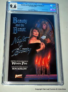 Beauty & The Beast Night of Beauty 1 CGC 9.6 1st 1990 Wendy Pini First comics