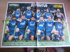 POSTER=JUVENTUS COPPA UEFA 1994/95/VIALLI= CM 54X40=DA GUERIN SPORTIVO