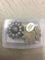 3 Sets 10.0x2.0mm Sunflower Strong Magnetic Clasp for 5mm 10mm Flat Leather Cord