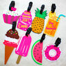 1PC Silicone Cartoon Luggage Baggage Tags Name Address ID Suitcase Travel Labels