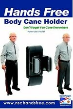 Walking  stick Cane Holder - Handsfree Carrier attached to you