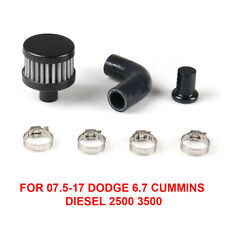 For 07.5-17 Dodge 6.7 Cummins 2500 3500 Car CCV Crank Case Vent Reroute Kit