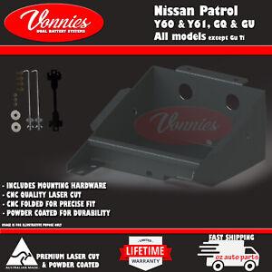 Dual Battery Tray For Nissan Patrol Y60 & Y61, GU & GQ HEAVY DUTY