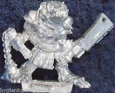 1987 Skaven C47 Clanrat with Cleaver and Flail Chaos Ratmen Citadel Warlord Hero
