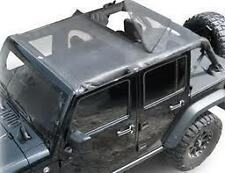 Rampage Combo Brief & Topper 07-15 Jeep Wrangler JKU 4 Door 94501 Mesh