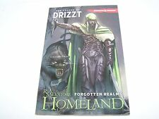 THE LEGEND OF DRIZZT FORGOTTEN REALMS HOMELAND DUNGEONS and DRAGONS BOOK COMIC