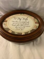 To My Wife Eternal Love Traditional Music Jewelry Box Plays Unchained Melody