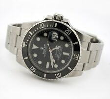 ROLEX SUBMARINER DATE OYSTER PERPETUAL 116610LN WATCH