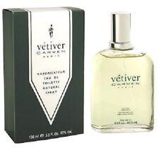 Vetiver by Carven For Men 3.3 oz Eau de Toilette Spray Vintage New in Box