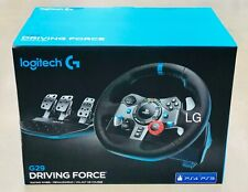 Logitech G29 Driving Force Racing Wheel and Pedals (PS4/PS3 and PC) UK-Plug