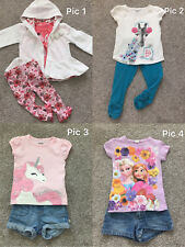 Lot 9 Baby Girl Spring Fall Winter Clothes Jacket Tops Denim Shorts Pants 24M 2T