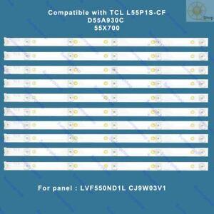 LED TV backlight strip kit 4C-LB5505-HR01J for TCL L55P1S-CF D55A930C 55X700