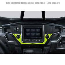 USA Made Ride Command Center Dash Panel Plate Polaris RZR S 1000 Lime Squeeze