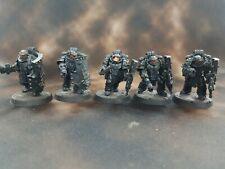 Horus Heresy Iron Hands Legion Medusan Immortals with plasma guns x5 Q-34