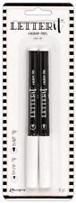 Ranger Letter It Clear Ink Medium Pens Embossing Perfect Pearls Bullet Brush Nib