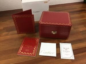 Cartier Watch Box COWA0043 with Outer Box in good condition + FREE SHIPPING