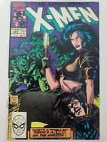 UNCANNY X-MEN #267 (1990) MARVEL COMICS JIM LEE! PORTACIO! 2ND APPEARANCE GAMBIT
