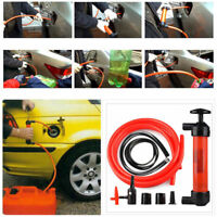 Good Portable Car Hand Oil Gas Liquid Syphon Transfer Pump Hose Siphon Pumps