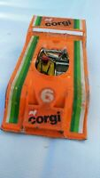 VINTAGE CORGI CAN AM RACE CAR ORANGE PORSCHE AUDI 1:36 DIECAST CAR TOY
