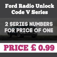 FORD SONY 6000 DAB RADIO UNLOCK CODE - FASTEST ONLINE SERVICE - ONLY 99p