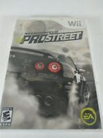 Need for Speed ProStreet Nintendo Wii 2007 Pro Street Tested Working