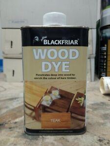 Blackfriar Wood Dye Teak 500ml