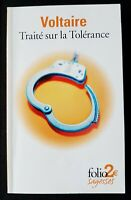 Traite Sur LA Tolerance (Folio 2 Euros) by Voltaire Book The Cheap Fast Free