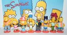 The Simpsons Figure Set of 8 fun Mini Bobbleheads including Homer, Bart and More