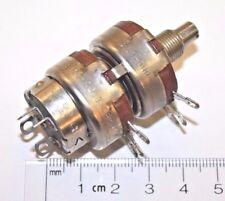 NOS AB ALLEN BRADLEY Type J Dual 250 ohm Linear Potentiometer w/ DPDT switch