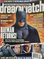 Dreamwatch Magazine 2005 - Batman Returns Movie - Star Trek - Lost TV Show - VG