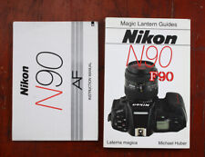 NIKON N90 INSTRUCTION BOOK AND THE MAGIC LANTERN GUIDE/211378