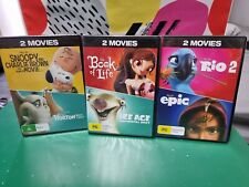 BLUE SKY STUDIOS MOVIES. 6 FILMS. ALL ORIGINAL.  ALL BRAND NEW & SEALED.  R4 AU.