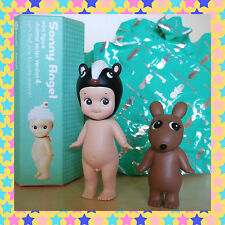 Sonny Angel Mini Figure Animal Series 4 Skunk & Secret Brown Robby Cake Topper
