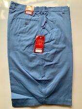Mens Shorts (48) Blue RRP £24.99 golf tailored elastic classic smart walking sky