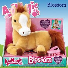 AniMagic Blossom My Beautiful Pony Horse Plush Soft Cuddly Toy with Sound